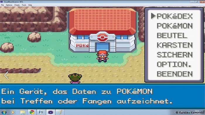 Screenshot Pokémon