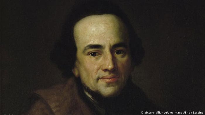 Epoche der Aufklärung Moses Mendelssohn Porträt von Anton Graff