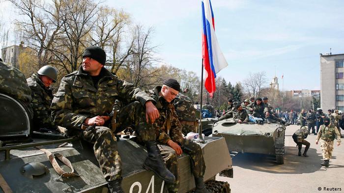 Kiev envia mais tropas e tensão aumenta no leste da Ucrânia