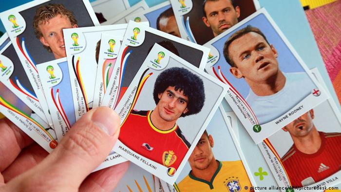 Panini collection Stickers World Cup Brazil 2014