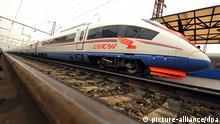 Russland Siemens-Zug Typ ICE Sapsan