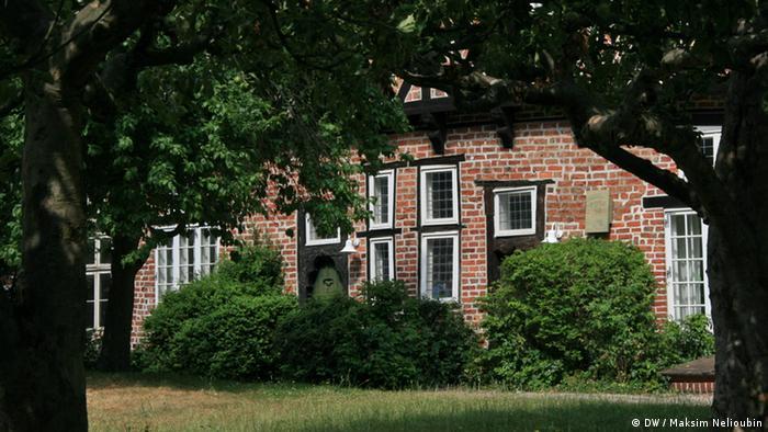 Фахверковый дом в историческом центре Люнебурга