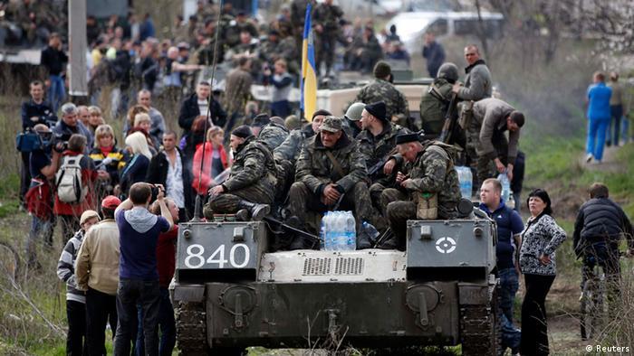 Ostukraine Krise Kramatorsk 16.04.2014