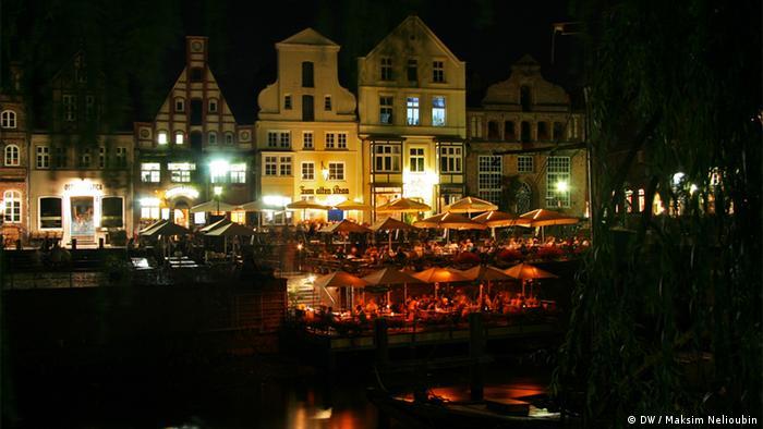 Рыбный рынок Stintmarkt в Люнебурге