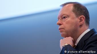 RWE CEO Peter Terium 16.04.2014 Hauptversammlung in Essen