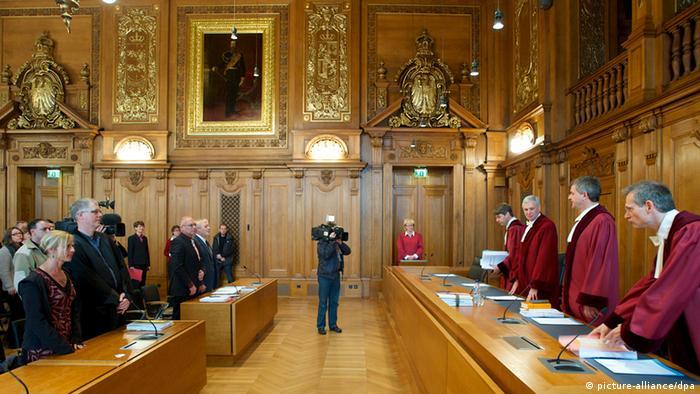 Sudnica Saveznog upravnog suda u Leipzigu