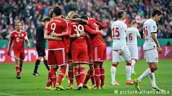 Fußball DFB-Pokal Halbfinale FC Bayern München 1. FC Kaiserslautern