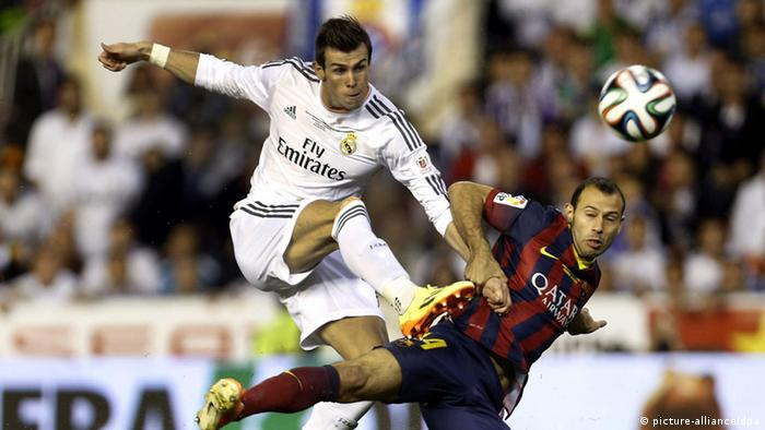 Fußball King's Cup Finale Real Madrid FC Barcelona (picture-alliance/dpa)