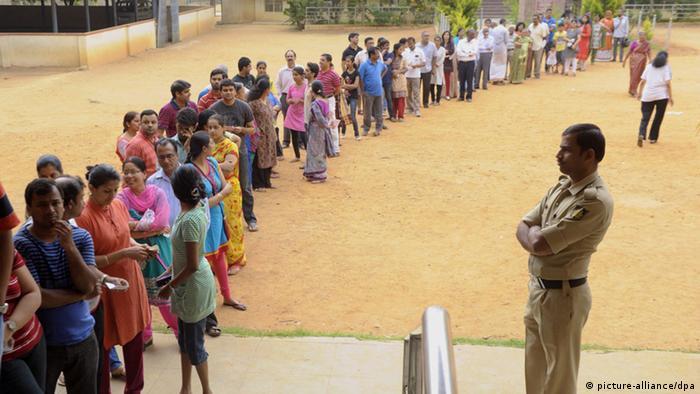 Wahlen in Indien 17.04.2014