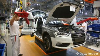 Audi Produktion Ingolstadt Archiv 2013