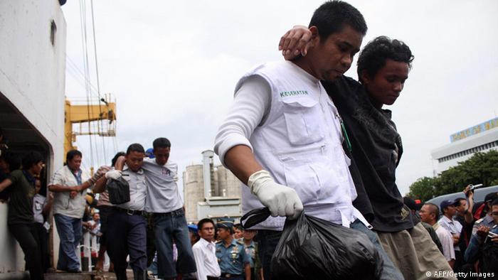 Fährunglück Indonesien 2009