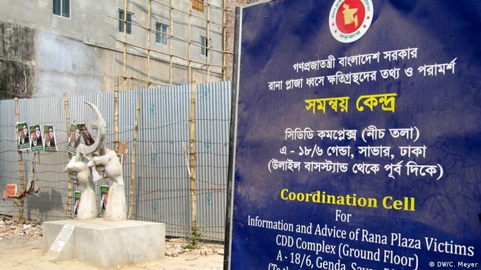 Erster Jahrestag des Einsturzes der Textilfabrik in Bangladesch (Bildergalerie) (DW/C. Meyer)