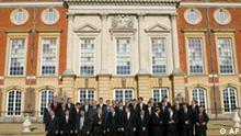 EU Gipfel in Hampton Court Großbritannien