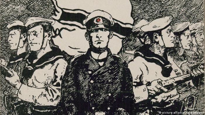 1. Weltkrieg, Kiautschou Postkarte Ausschnitt
