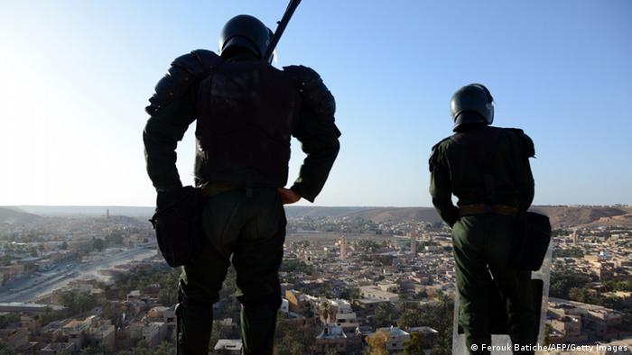 Polizei in Algerien (Foto: Getty Images)