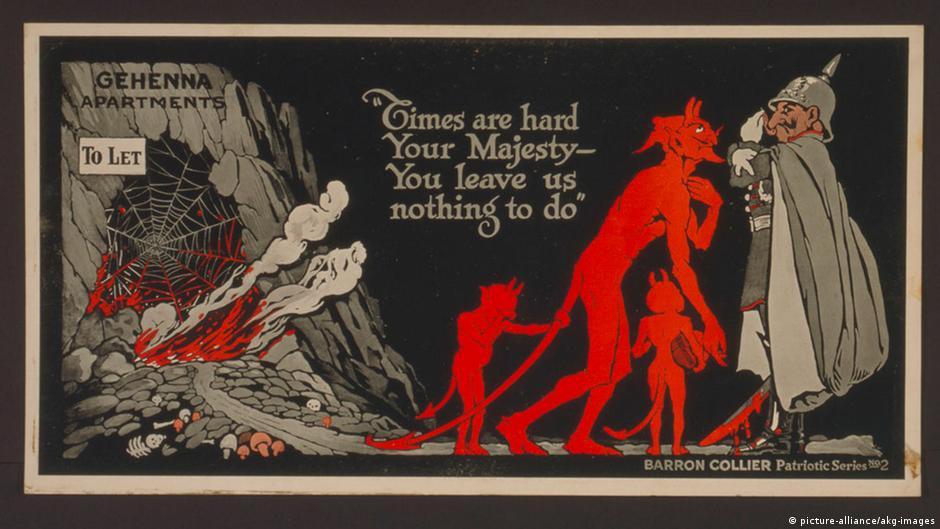 Uncle Sam gegen die ″Hunnen″ | Der Erste Weltkrieg | DW ...