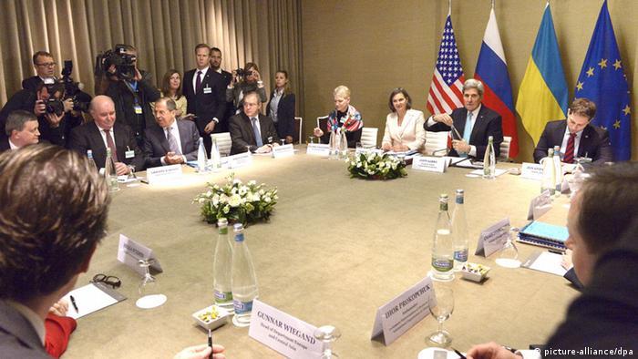 EUA, UE e Rússia estabelecem roteiro de paz para a Ucrânia