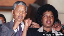 Nelson und Winnie Mandela