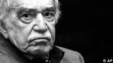 Colombian Nobel Literature Prize laureate Gabriel Garcia Marquez attends a conference at the International Book Fair in Guadalajara, Mexico, Monday, Dec. 1, 2008. (ddp images/AP Photo/Miguel Tovar)