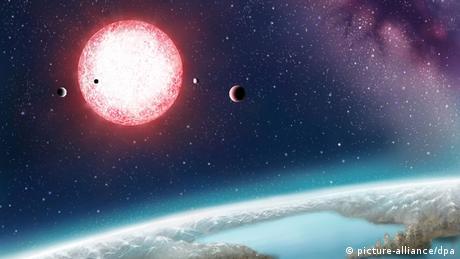 Neu entdeckter Planet Kepler-186f.
