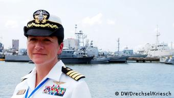 US Navy Capitan Nancy Lacore Photo: Drechsel und Kriesch/DW