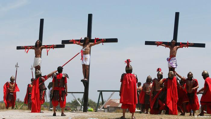 Crucifixions in the Philippenes