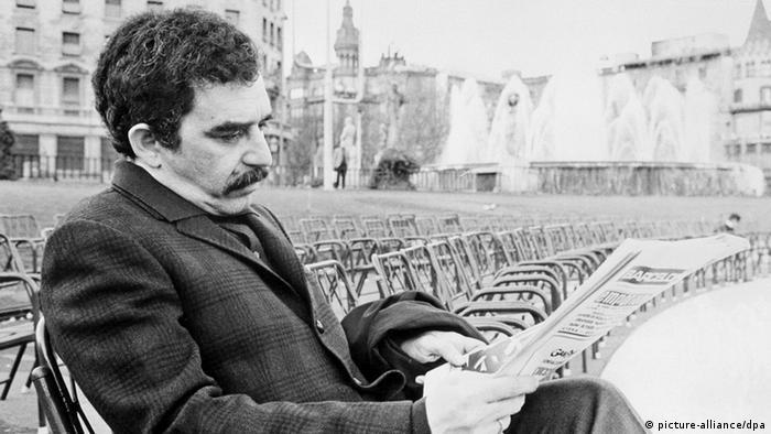 Imagen de García Márquez en Barcelona. (Archivo)