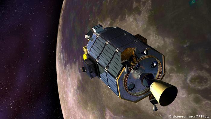 Nasa-Sonde LADEE wie geplant auf Mondoberfläche zerschellt