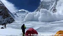 Mount Everest Lawine 18.04.2014