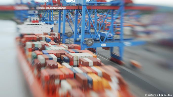 Container port (picture-alliance/dpa)