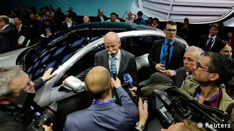 Auto China 2014 Mercedes Dieter Zetsche