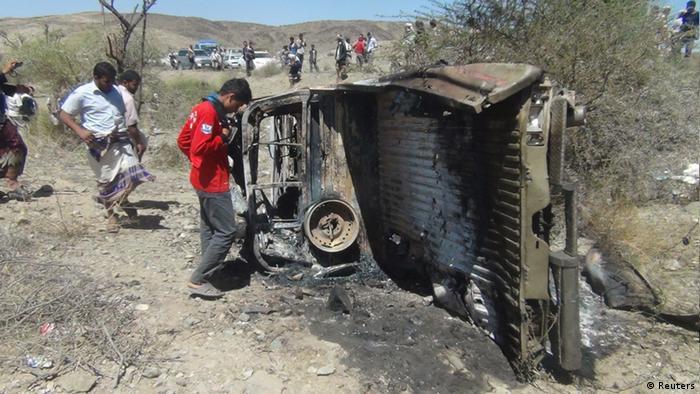 US-Drohnenangriff im Jemen - verstärkte Sicherheitskontrollen in Sanaa (Reuters)