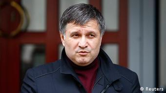 Ukraine - Innenminister Arsen Awakow