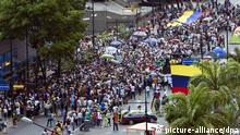 Venezuela / Caracas / Proteste / Demonstration