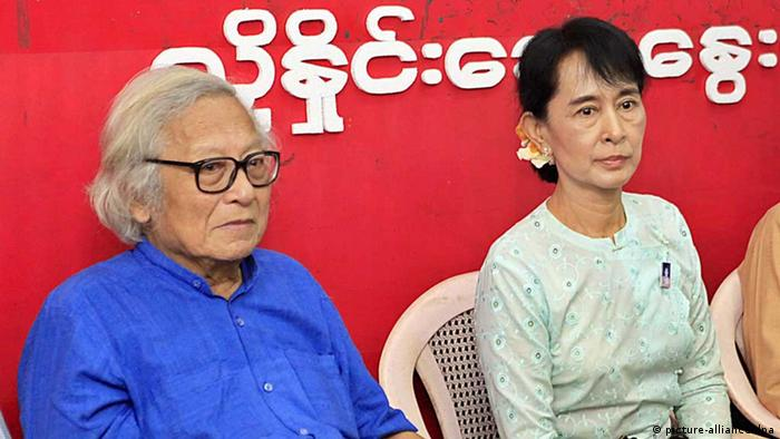 Win Tin und Aung San Suu Kyi (Foto: picture alliance)