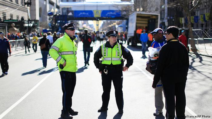 Boston Marathon 2014 Sicherheit USA
