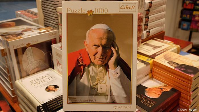 Bildergalerie Johannes Paul II. Devotionalien