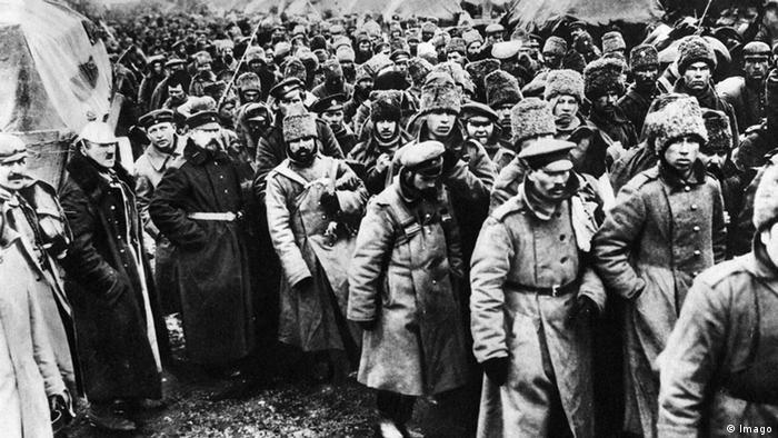 Военнопленные во время Первой мировой