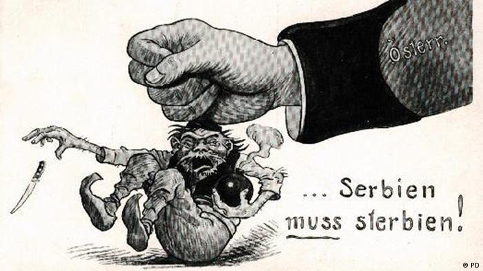 Krieg der Propaganda - Serbien