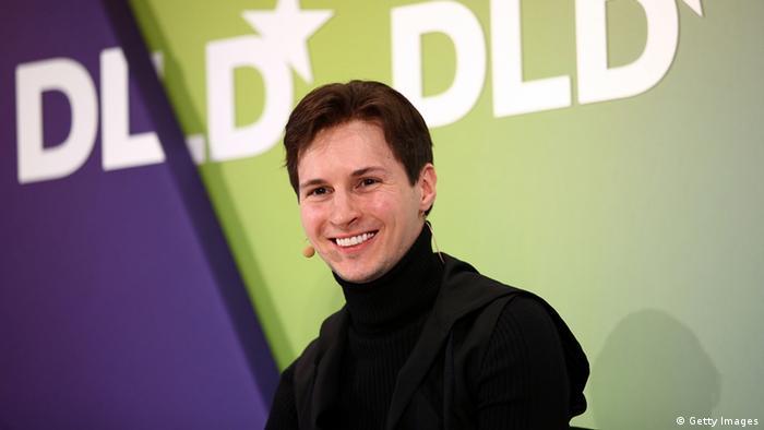 Deutschland Russland Internet VKontakte Gründer Pavel Durov in München (Getty Images)