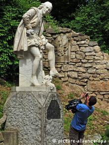 Deutschland Denkmal für William Shakespeare in Weimar