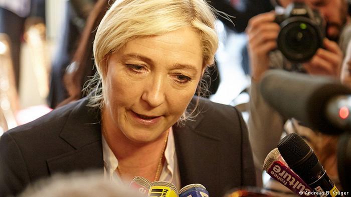 Marine le Pen (photo: Andreas B. Krüger)