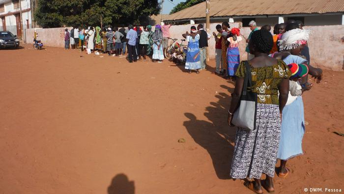 Präsidentschaftswahl in Bissau Wähler
