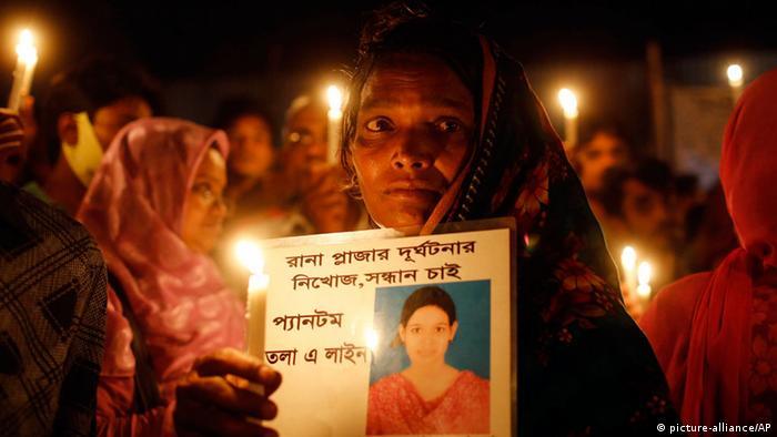 Bangladesch Gedenken Textilfabrik Katastrophe