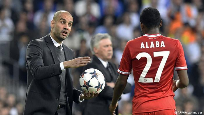 Pep Guardiola is reportedly keen on working with Alaba again (AFP/Getty Images)
