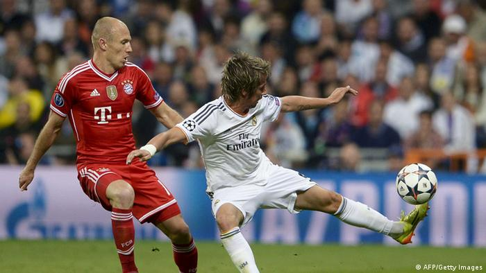 Champions League Real Madrid Bayern München (AFP/Getty Images)
