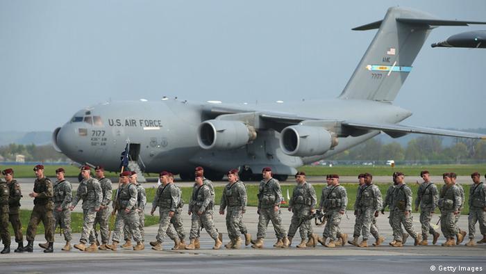 Солдаты США прибыли на учения НАТО в Польше