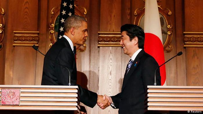 US Präsident Barack Obama in Tokio Japan