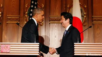 US Präsident Barack Obama in Tokio Japan