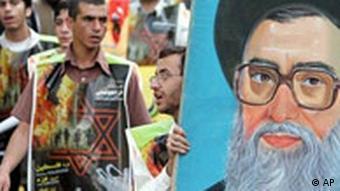 Iran, Teheran, anti-israelische Demonstration
